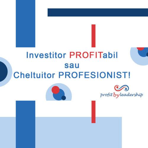 investitor profitabil